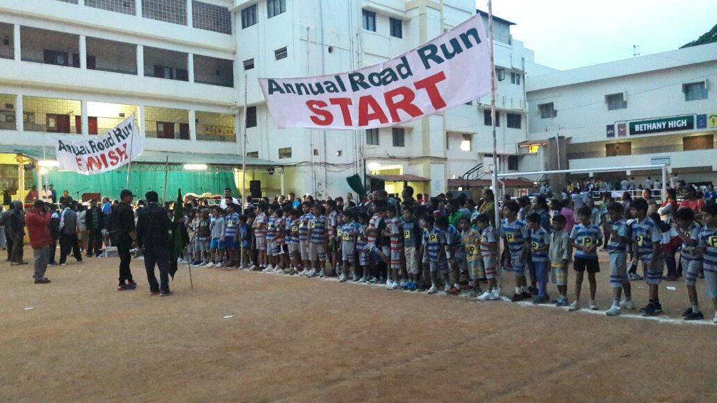 Remembering Road Run At Bethany High School, Koramangala.